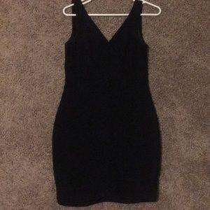 Express Black Bandage Dress NWT